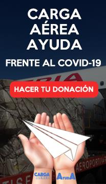 CARGA AEREA AYUDA COVID-19
